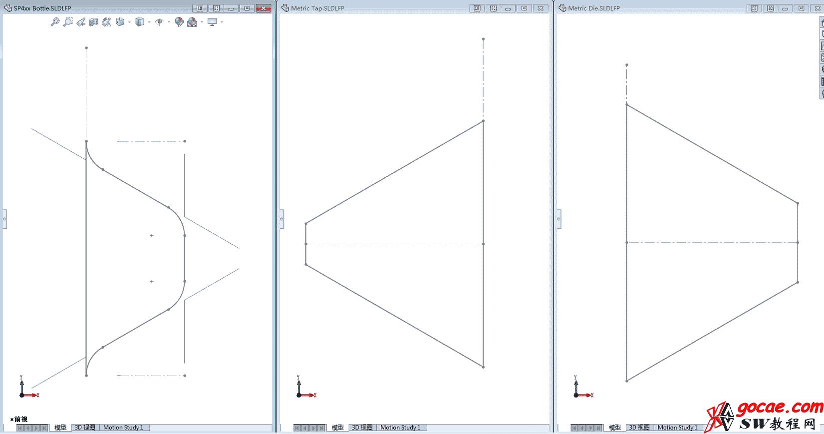 Solidworks如何画真实的螺纹/SW新功能