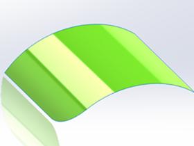 solidworks中的曲面应该如何倒角?