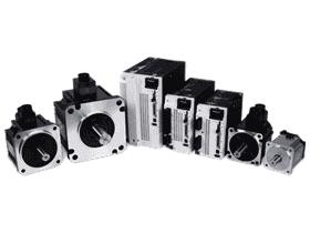 松下伺服电机控制器/微型齿轮调速马达/无刷电机3D模型+DWG图纸
