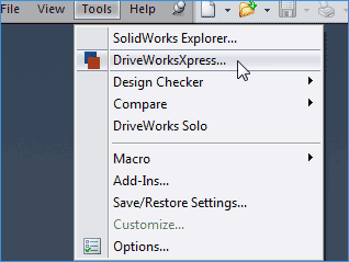 solidworks自动化设计|DriveWorksXpress