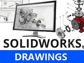 solidworks镜向零件如何出工程图?SW2017镜向工程图视图