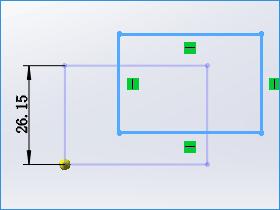 solidworks草图中如何使用移动、复制、旋转、按比例缩放和伸展实体