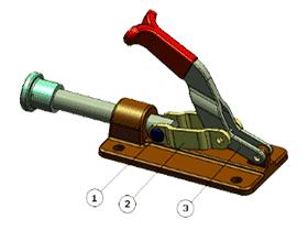 solidworks装配体中的随配合复制操作实例