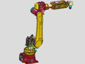 6关节工业机器人本体_3D图纸模型_RBAA2002