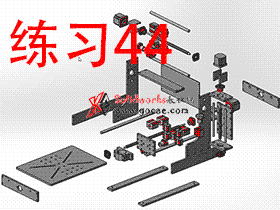 每日一练:#44 手把手用solidworks做一台家用DIY雕刻机之全部零件 [1╱2]