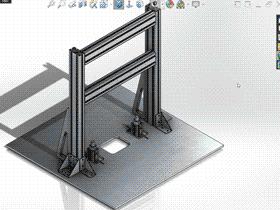 每日一练:#50 用焊件做铝型材龙门架 solidworks 完整免费视频教程