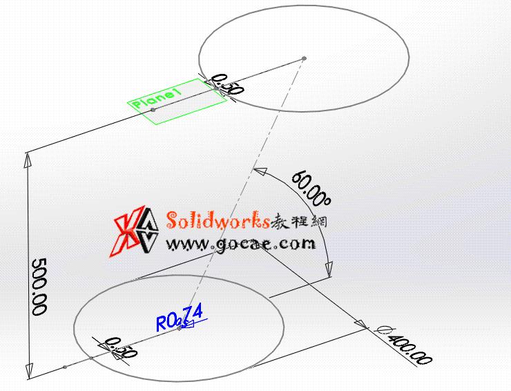 每日一练:#55 平行圆口圆柱连接管 solidworks 薄板放样 | 钣金视频教程