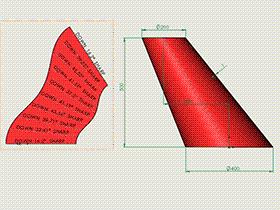 每日一练:#59 平行圆口斜椭圆锥管 solidworks 薄板放样 | 钣金视频教程