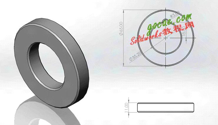 每日一练:#76 | 简单零件的建模 | 焊接翻转变位机 solidworks 视频教程