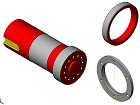 每日一练:#77 | 简单零件的建模 | 焊接翻转变位机 solidworks 视频教程