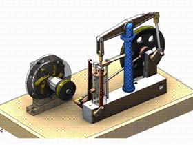 每日一练:#88 | DIY 卧式蒸汽机装配 爆炸图(6)| solidworks 初学基础视频教程