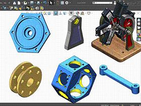 每日一练 #90 | DIY 6缸星形发动机的零件(1) | solidworks2020 初学基础视频教程
