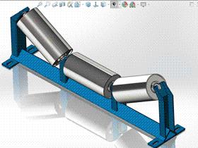 每日一练 #99 | 支架托辊 | solidworks2020 机械设计 案例视频教程
