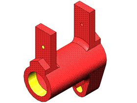 Solidworks入门教程:EB053 三维CAD习题集 零件与工程图 视频教程
