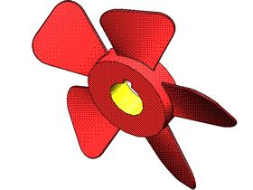 Solidworks入门教程:EB054 螺旋桨 叶片 三维CAD习题集 视频教程
