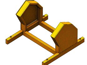 Solidworks入门教程:EB056 焊接底座框架 视频教程