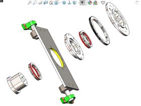 Solidworks入门教程:EB076 三维CAD习题 零件建模 视频教程