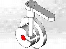 Solidworks入门教程:EB080 夹紧座 零件建模学习 solidworks2020 视频教程