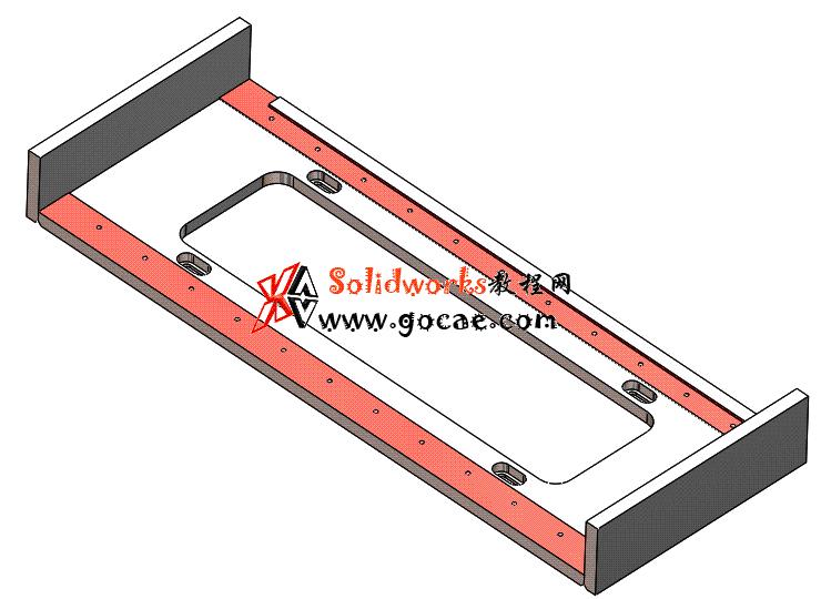 Solidworks入门教程:EB081 滑块导轨座 零件建模学习 solidworks2020 视频教程
