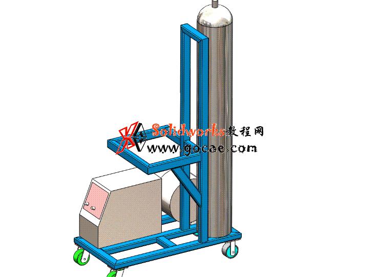 Solidworks入门教程:EB082 焊接小车框架 焊件学习 solidworks2020 视频教程