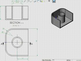Solidworks入门教程:EB085 实体建模 抽壳命令练习 solidworks2020 视频教程
