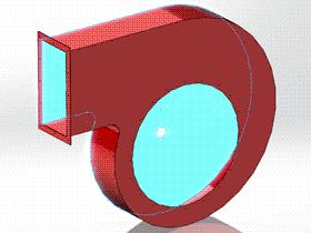 Solidworks入门教程:EB087 钣金练习 离心风机罩 solidworks2020 视频教程