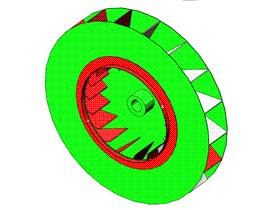 Solidworks入门教程:EB088 钣金练习 离心风 叶片轮 solidworks2020 视频教程