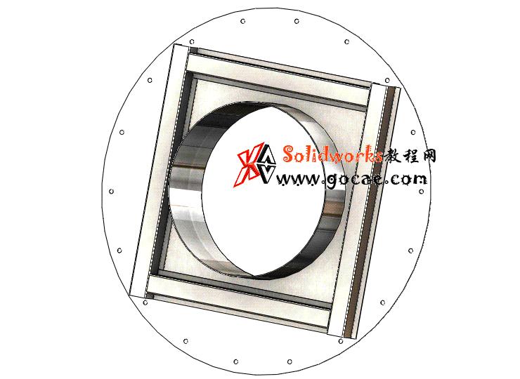 Solidworks入门教程:EB089 钣金练习 对接法兰 solidworks2020 视频教程