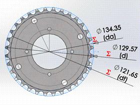Solidworks入门教程:EB091 滚子链 GB1244标准 链轮画法  solidworks2020 视频教程