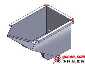 Solidworks入门教程:EB063 钣金-教程#5-斜接法兰-多实体钣金-视频教程