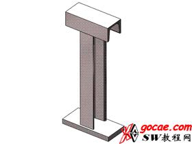solidworks焊件-教程#1-焊件轮廓的定位/槽钢结构件-视频教程