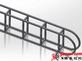 solidworks焊件-教程#2-焊件轮廓的自定义属性与工程图-视频教程