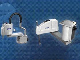 零件库 epson机器人  机械手 3D模型