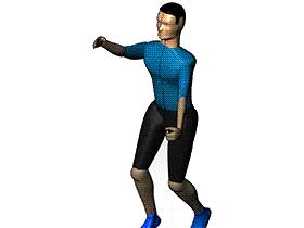 关节可调式人体模型  方案素材 solidworks 3D 零件库
