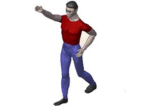 可调整姿势人体 方案素材 solidworks 3D 零件库