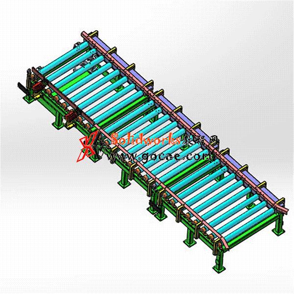 滚筒输送机15套合集3D图纸 Z52 机械设计参考资料设计素材