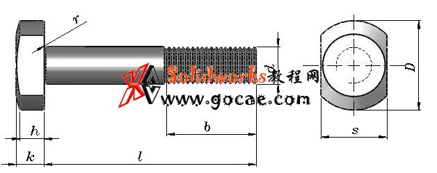 solidworks 标准件 #36 T形槽用螺栓 GB╱T 37 3D模型 三维零件库 标准查询