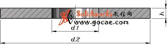 solidworks 标准件 #45 特大垫圈 C级 GB╱T 5287 3D模型 三维零件库 标准查询
