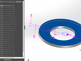 solidworks 标准件 #65 蝶形弹簧 系列C GB╱T 1972 外形尺寸 solidworks 3D模型 三维零件库 最新标准查询