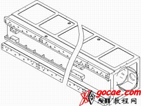 硬轨机床镶钢导轨的安装及定位方法