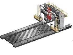 大型数控动梁龙门机床横梁水平自动调整装置