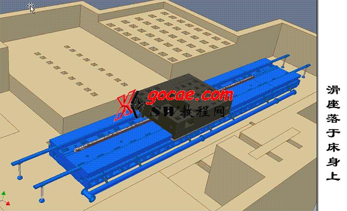 落地铣镗铣床TK6916B型介绍之1 机床总体结构