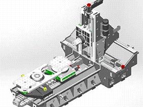 数控机床用回转工作台复合式旋转支承装置设计