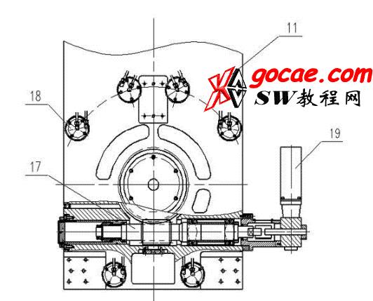 数控高精密立轴圆台复合磨床结构设计