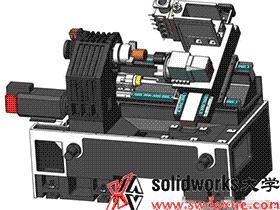数控车床关键部件:3片齿定位免抬升换刀的刀塔结构设计