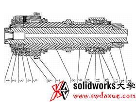 重型数控机床技术:铣镗加工中心的主轴结构