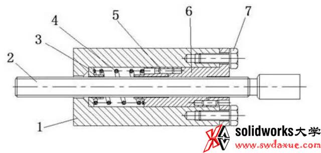 高精度数控机床基础技术:滚珠丝杠自动消除间隙的传动装置