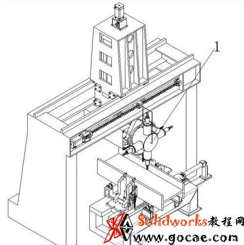 数控钻铣床自动换刀的刀塔型动力头结构设计