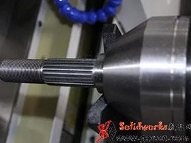 搓齿机——一次成型齿轮轴(花键)快速高精度加工利器