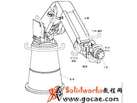 偏心摆动型齿轮装置的工业机械人结构设计
